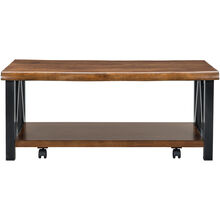 Esmarina Walnut Coffee Table