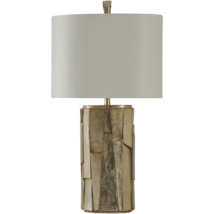Laslo Faux Stone Table Lamp