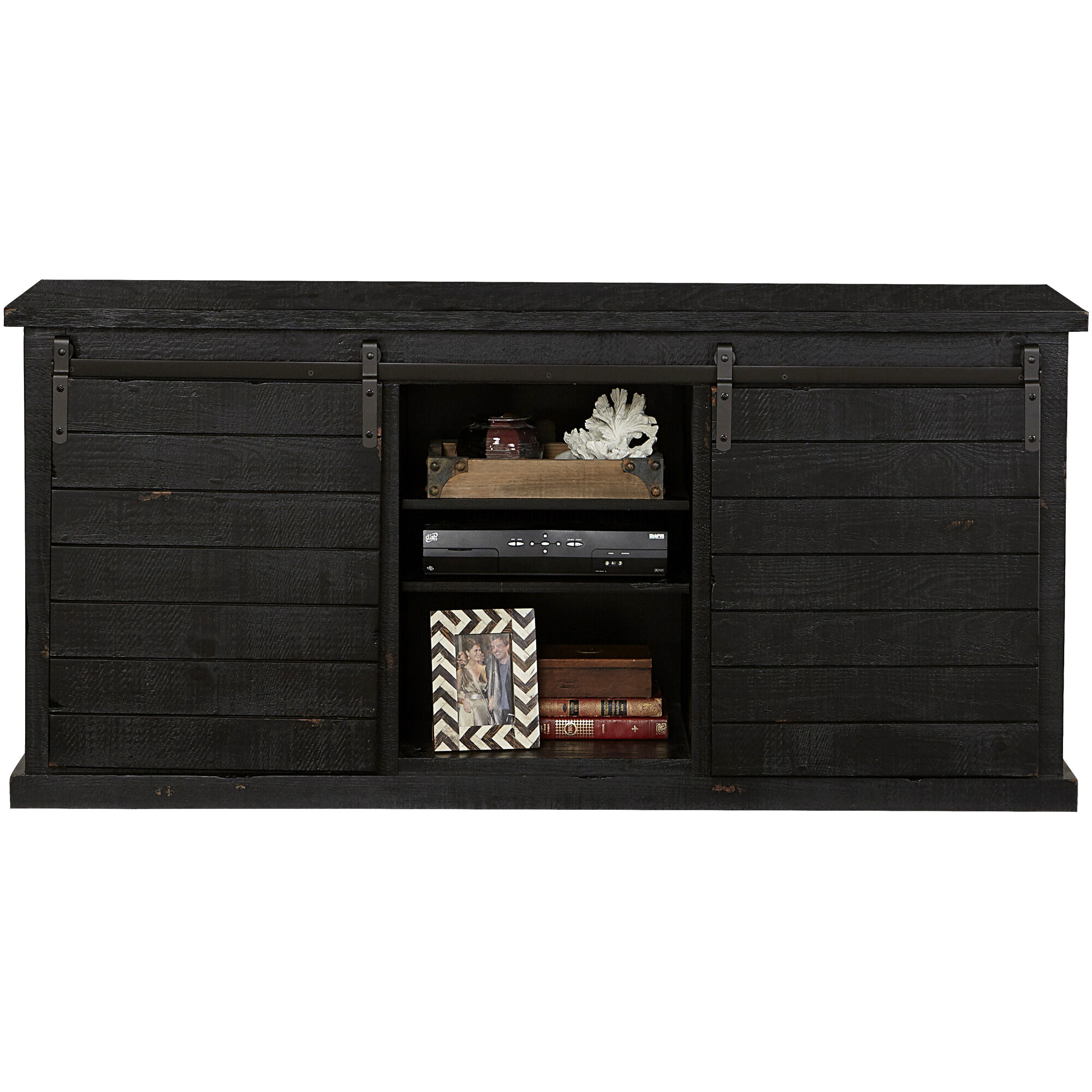 Keller Barn Door Console 48 Inch Wide Tv Stand A87