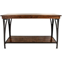 District Cool Copper Sofa Table