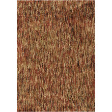Millenium Solid 8 x 11 Red Rug