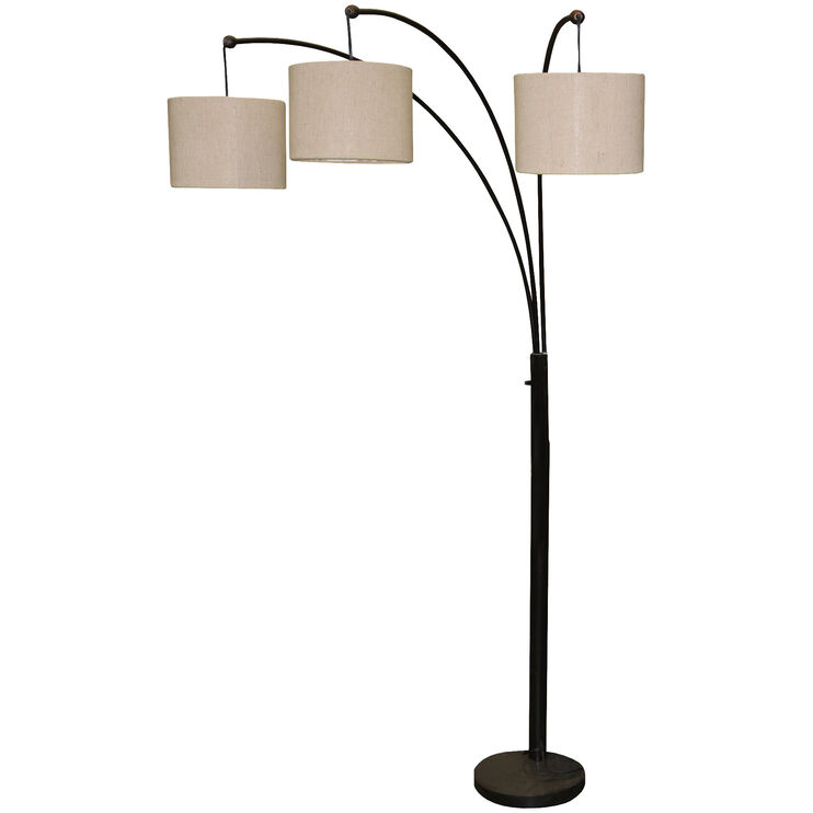 Skylight Bronze Arc Lamp