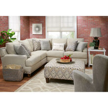 Trenton 3 Piece Linen Sectional