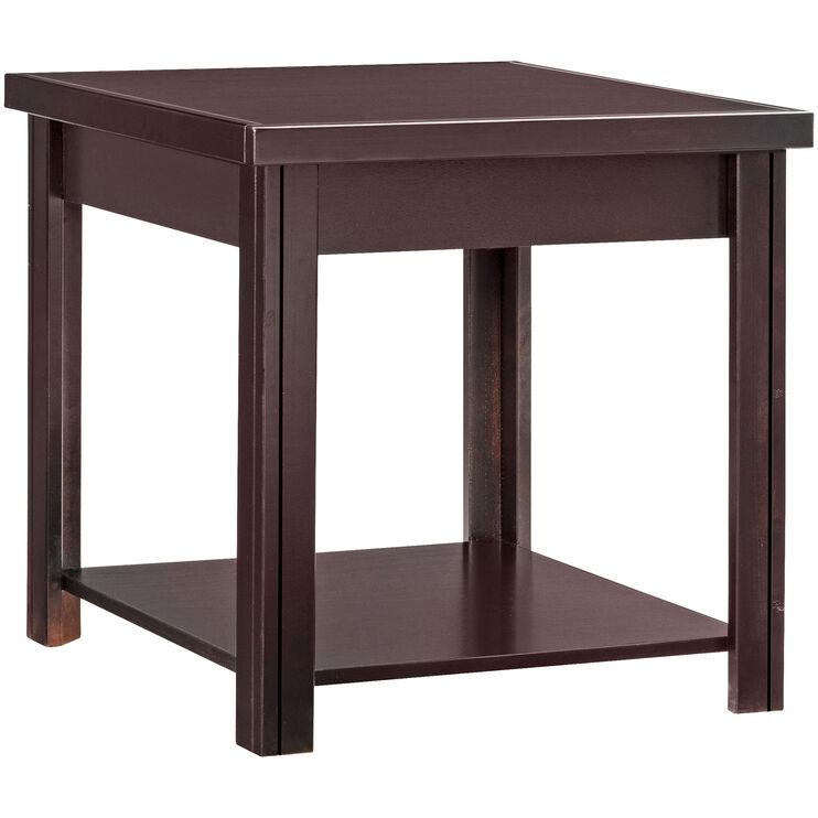 Lockwood Mocha End Table