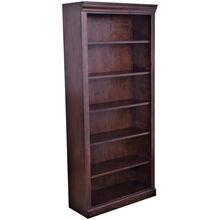 Classic 72 Inch Brown Bookcase