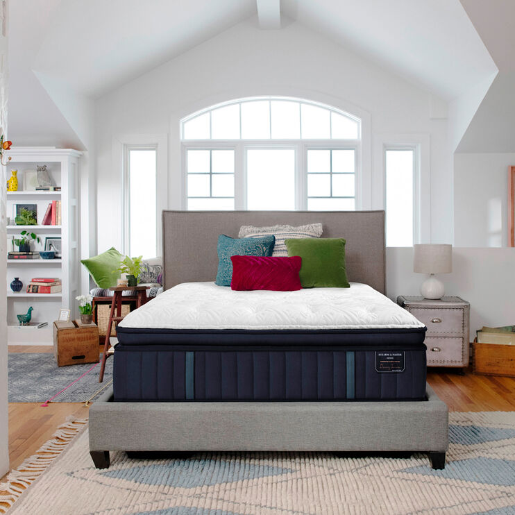 Rockwell Luxury Firm European Pillow Top Queen Mattress