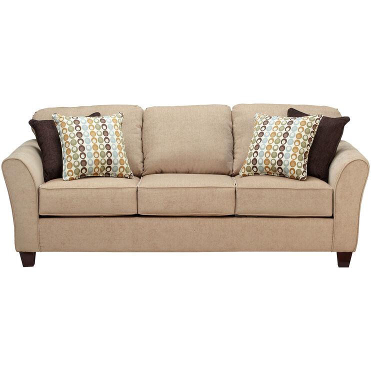 Slumberland Furniture Chatham Tan Sofa