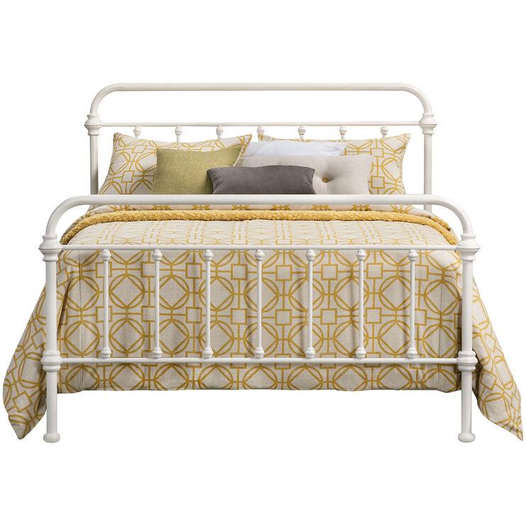 Laguna Queen White Bed