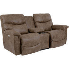 James Silt Power Console Loveseat
