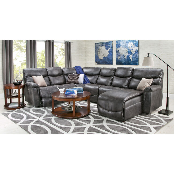 James Steel 5 Piece Right Chaise Sectional