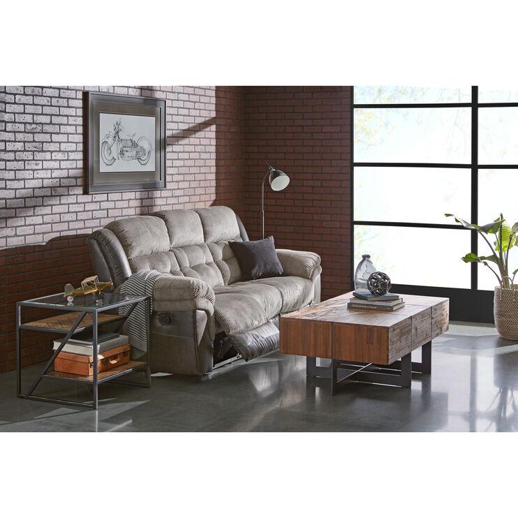 Slumberland Furniture Dunkirk Steel Reclining Sofa