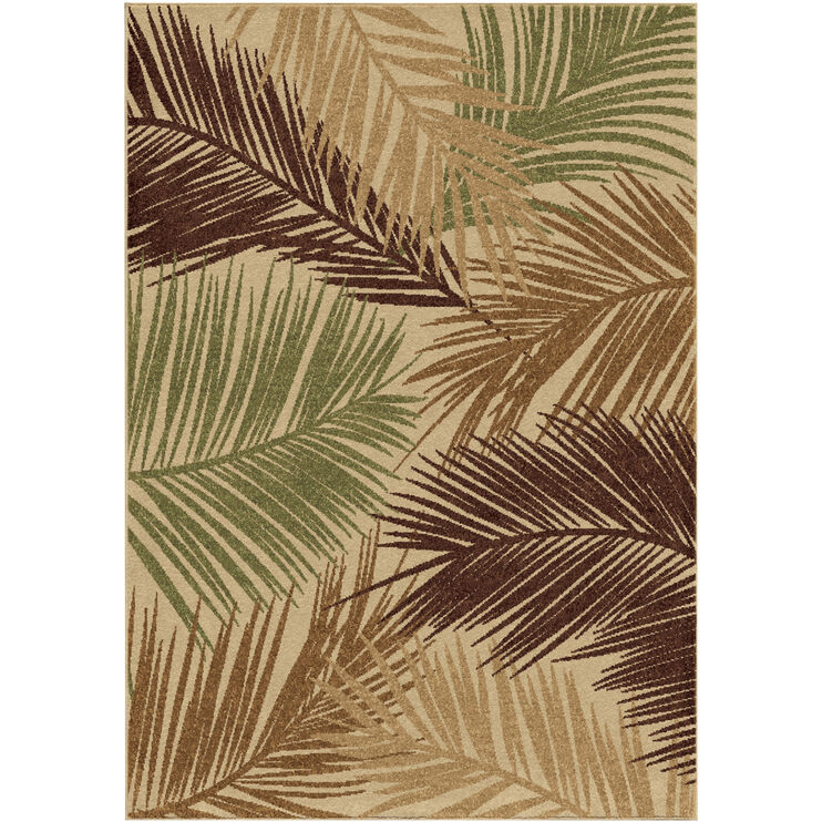 Four Seasons Bungalow Multi 8 x 11 Rug
