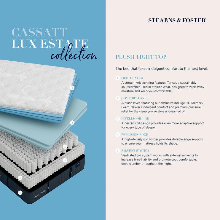 Cassatt Luxury Plush Tight Top Full Mattress