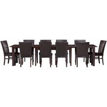 Kona Raisin 11 Piece Dining Set