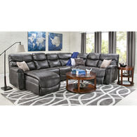 James 5 Piece Left Chaise Sectional