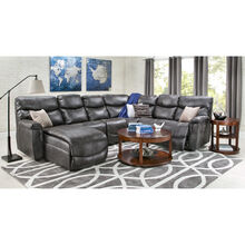 James Steel 5 Piece Left Chaise Sectional