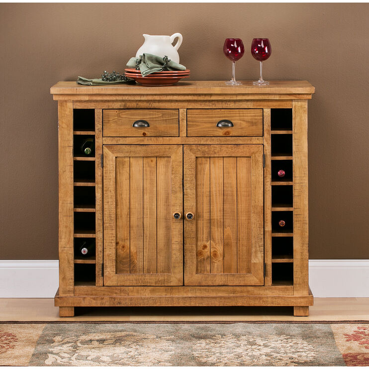 Willow Distressed Pine Server