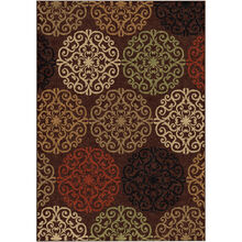 Four Seasons Catalina Brown 8 x 11 Rug