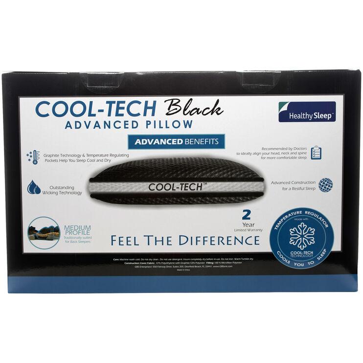 Healthy Sleep Queen Cool-Tech Medium Profile Pillow