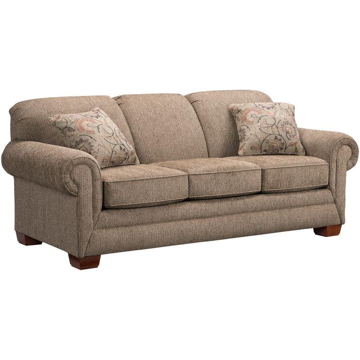 Slumberland furniture tenor brown sofa - Slumberland living room furniture ...
