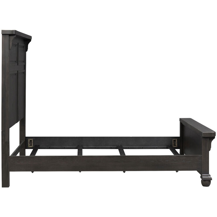 Harvest Home Chalkboard Queen Panel Bed