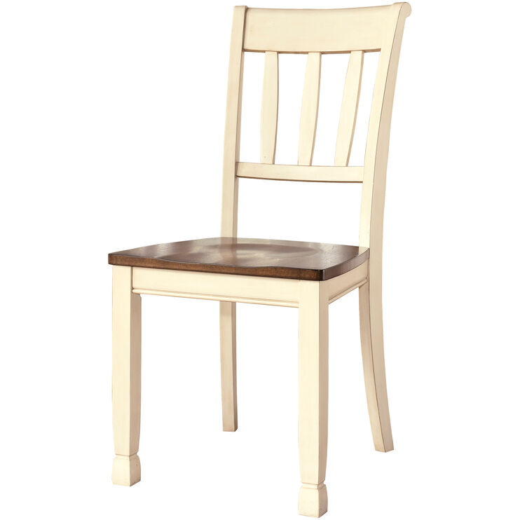 Grantsburg White Side Chair
