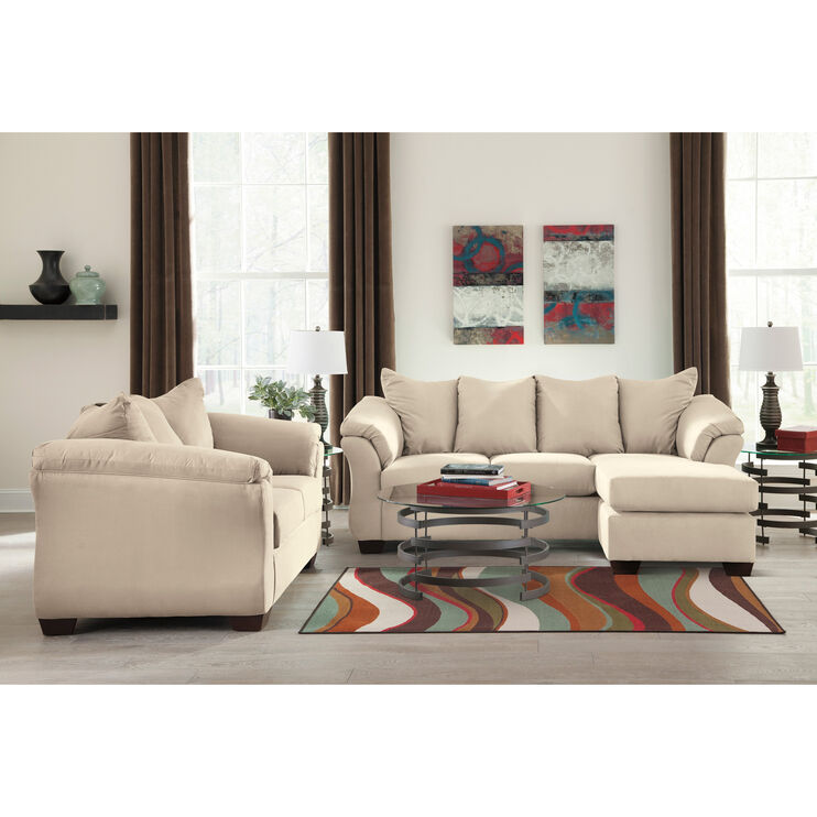 Marcy Stone Chaise Sofa