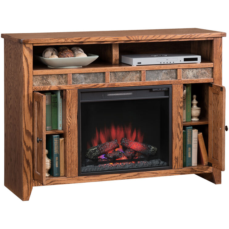 "Evanston 48"" Fireplace Console"