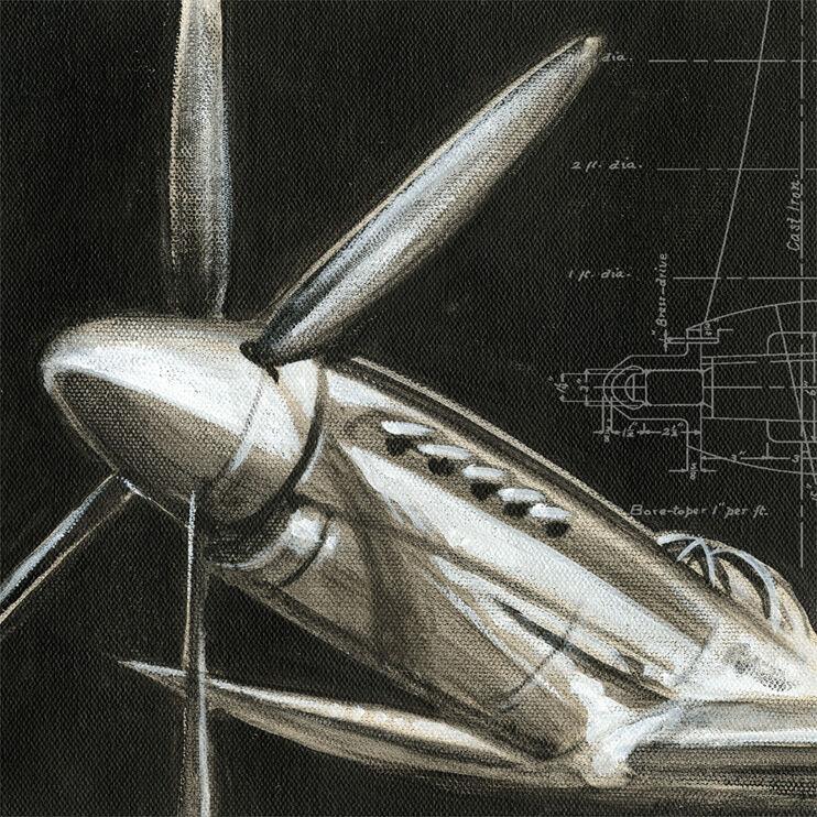 Aerial Navigation II Framed Art