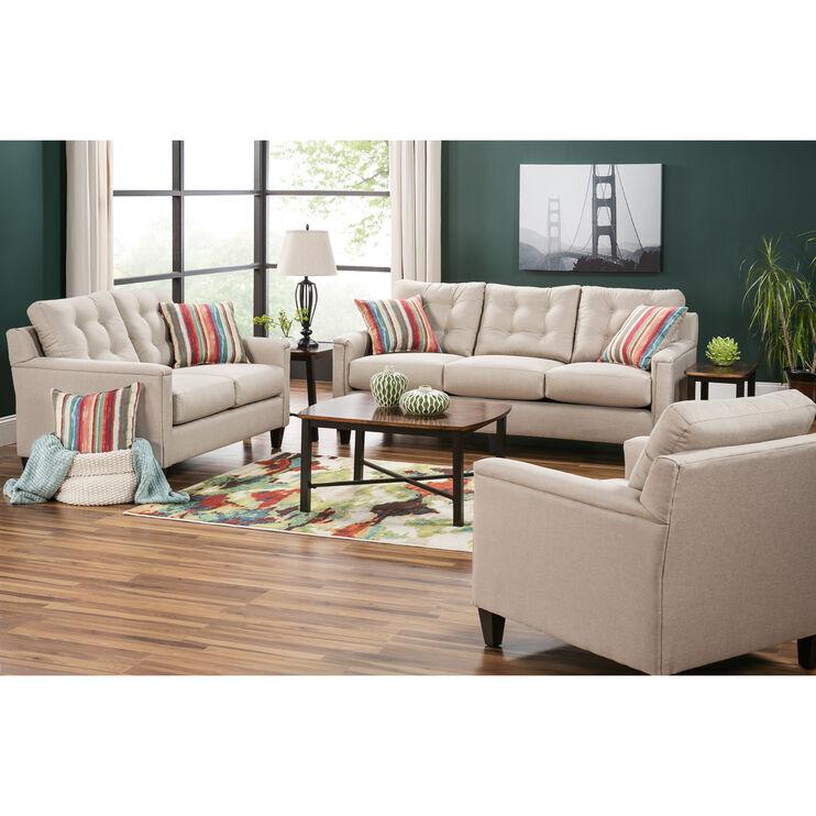 Platte Khaki Sofa