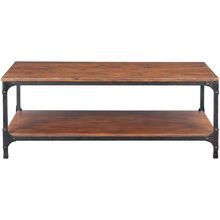 Abbott Distressed Pine Rectangle Coffee Table