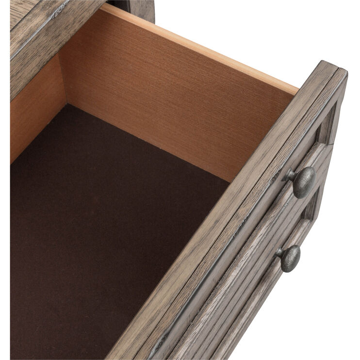 Harvest Home Brown 5 Drawer Chest