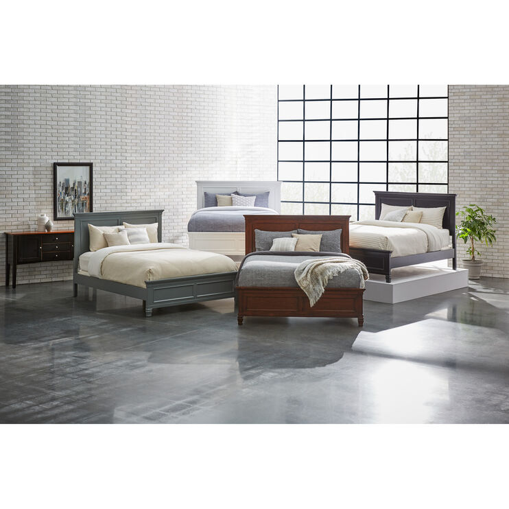 Persia II White Queen Bed