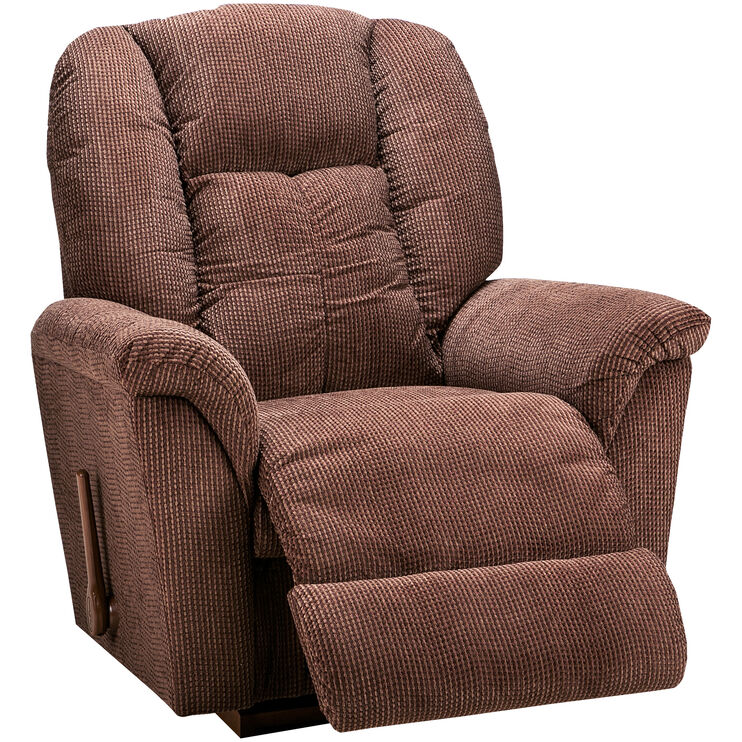Jasper Chocolate Rocker Recliner Slumberland Furniture