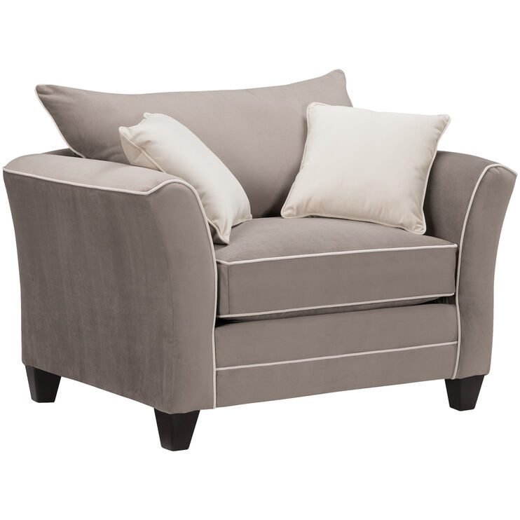 Merrick Mocha Chair