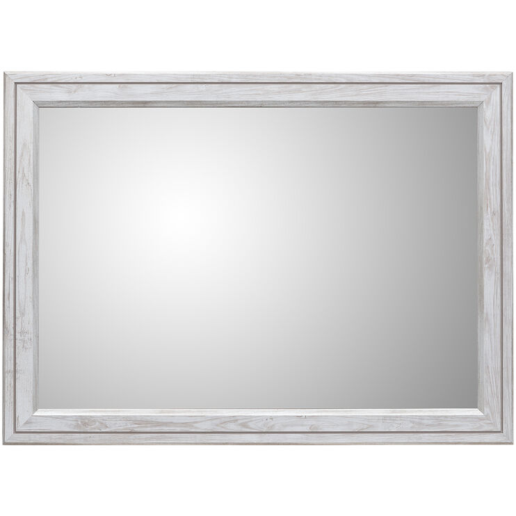 Willowton Whitewash Mirror