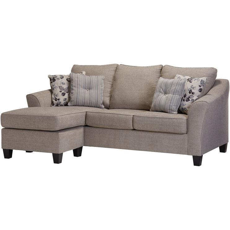 Slumberland Furniture Cyprus Driftwood Sofa Chaise