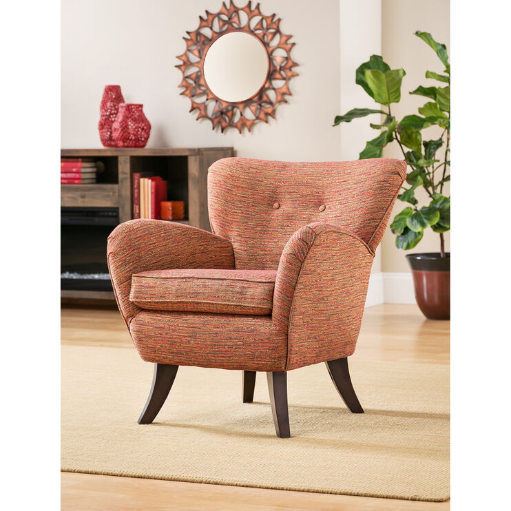 Elnora Melange Accent Chair