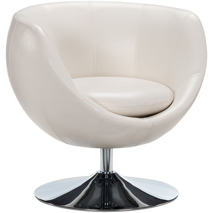 Globus Cream Swivel Chair