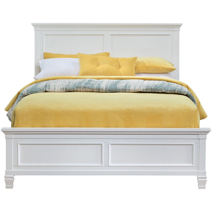 Persia II White King Bed