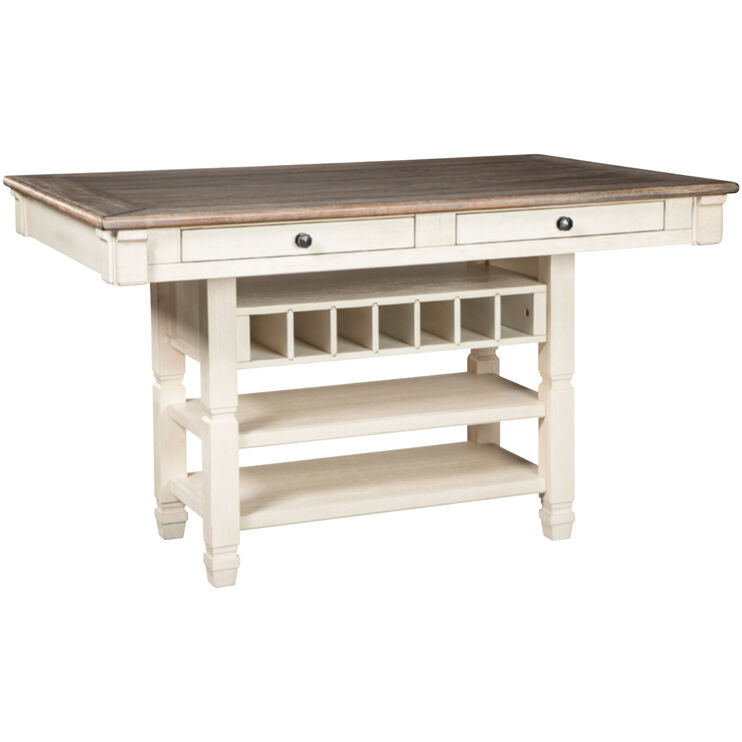 Bolanburg Antique White Counter Dining Table