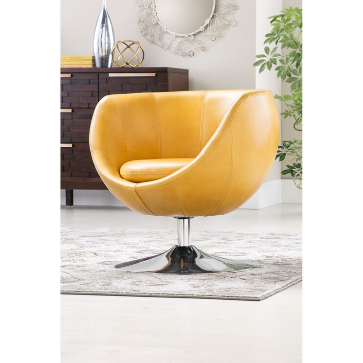 Globus Honey Swivel Chair