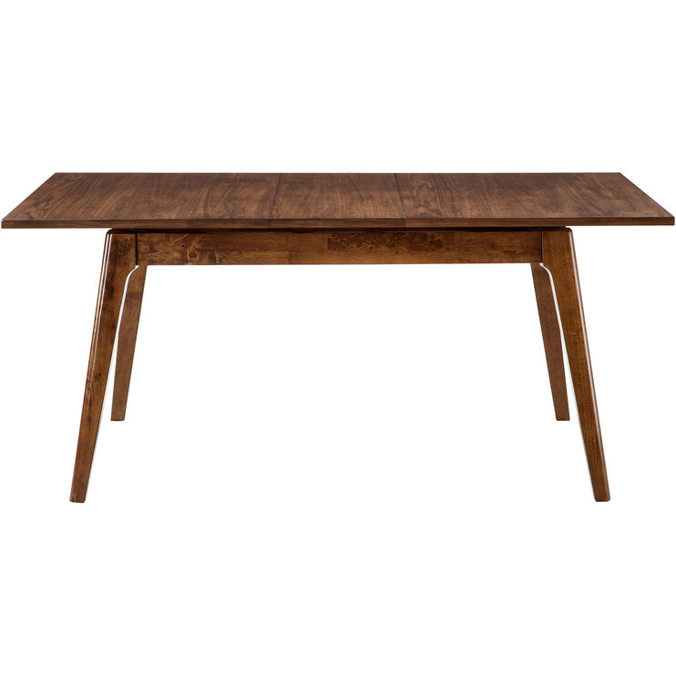 Adeline Walnut Dining Table with Leaf