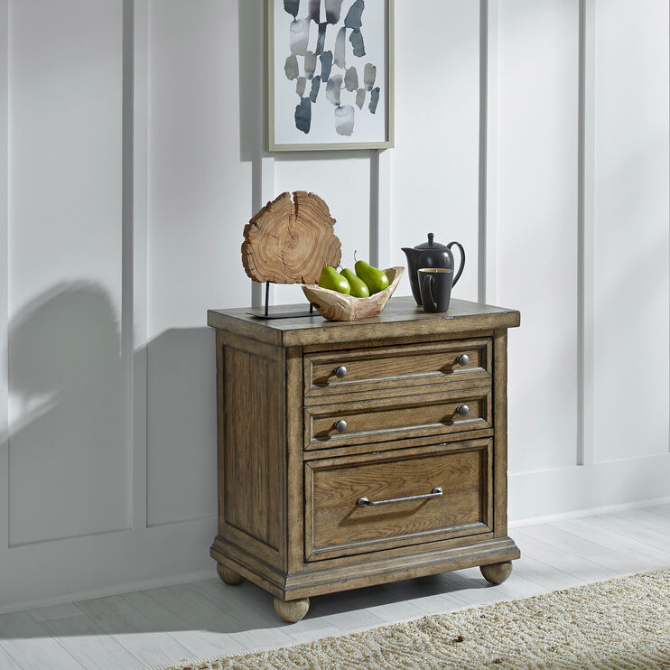 Harvest Home Brown Nightstand