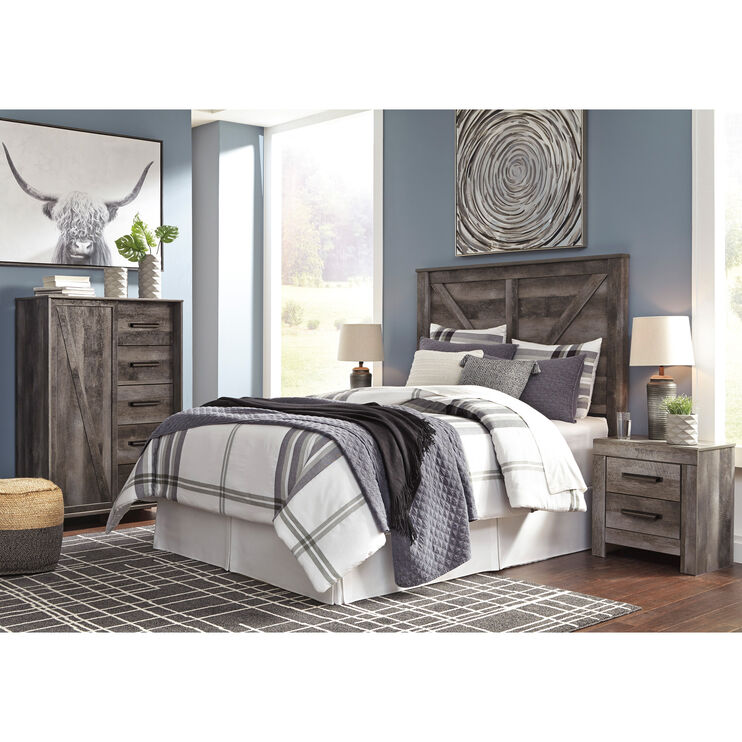 Wynnlow Gray Queen 4 Piece Room Group