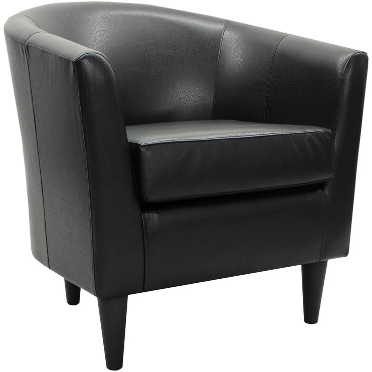 Windsor Black Accent Chair