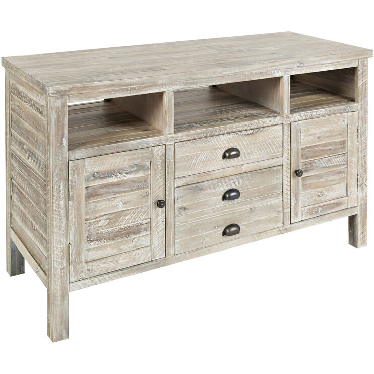 Artisans Craft Gray Wash 50 Inch Console