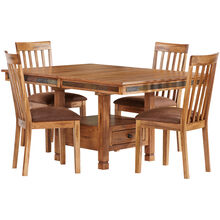 Sedona Rustic Oak 5Pc Dining Set