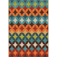 Veranda Berkley Multi 5 x 8 Rug