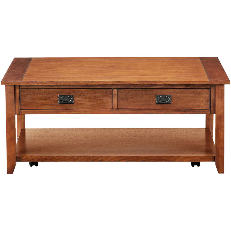 Rutledge Oak Coffee Table